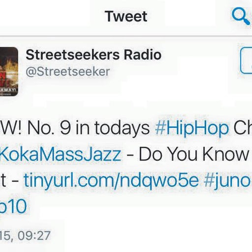 N9 in todays HipHop Chart is Koka Mass Jazz - Do You Know That