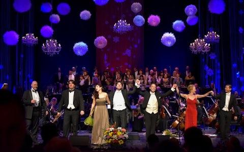 Ball at Opera Plovdiv, Bulgaria