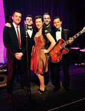 WIth Myriam Phiro and the Swing Cavaliers