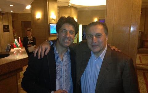 with Pata Burtshuladze