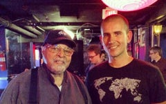 With the GREAT Jimmy Cobb